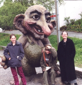 På Fløyen (Bergen) 14 juni 2001