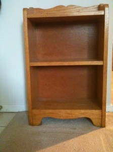 Bookshelf, front view