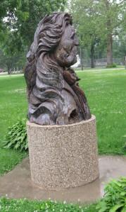 Hickok Statue, Troy Grove IL