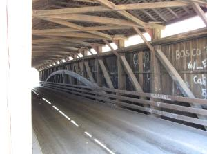 Carrollton Covered Bridge Interior