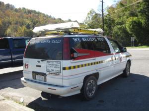 Ghostbuster Car