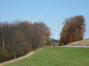 Along Highway 219 in West Virginia