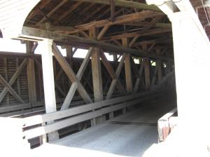 Philippi Covered Bridge entrance