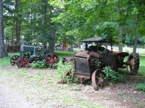 Tractors at Cool Springs Park