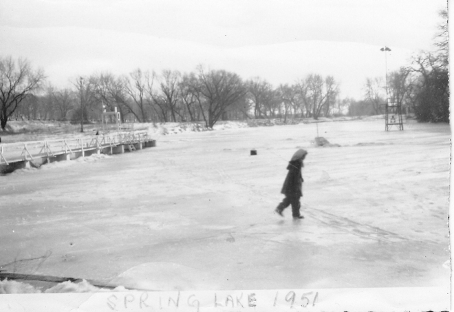 Spring Lake, Winter 1951