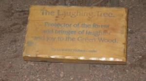 Protector of the Forest sign