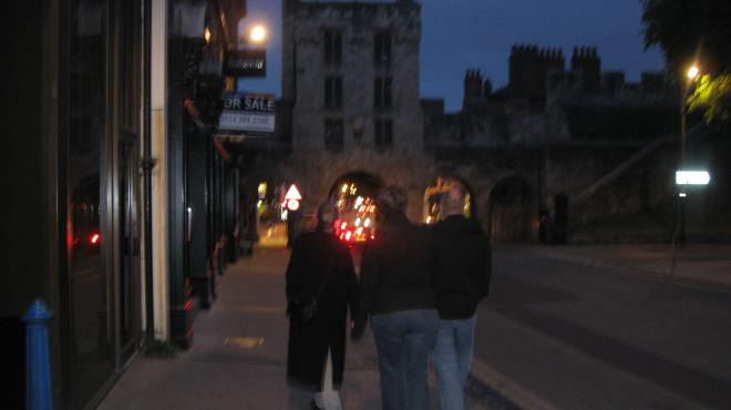 Approaching the Micklegate Bar