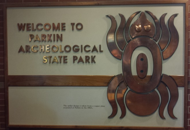 Parkin Park Sign
