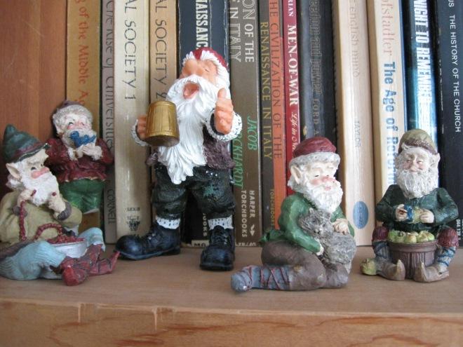 Awaiting Christmas, on the shelf