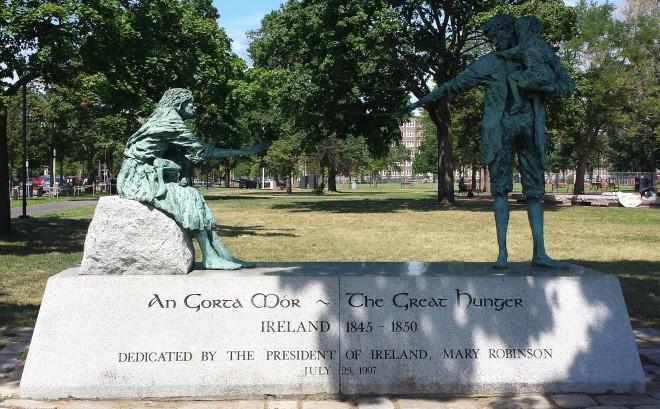 Great Hunger memorial, Cambridge, Massachusetts