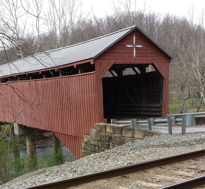 Carrollton Covered Bridge, 19 April 2014