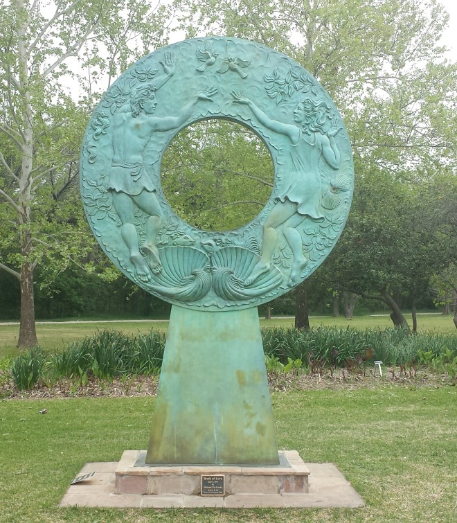 Birth of Love, statue by Michael Pavlovsky